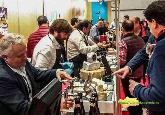 Imagen de una feria gastronómica celebrada recientemente en el País Vasco.