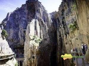 Caminito del Rey/Desfiladero de Gaitanejos/Tajos de Almorchón/Sierra de Almorchón/Paraje Natural Desfiladero de los Gaitanes [Espacio Natural Protegido]/Ardales/Guadalteba/Provincia de Málaga/España [Spain]