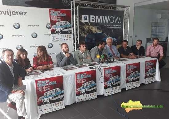 El diputado de Deportes, Jaime Armario, ha estado presente en Jerez en la presentación de la 22 edición del emblemático Rally Sierra de Cádiz, que tiene como principal novedad la vuelta a la sede de Grazalema.