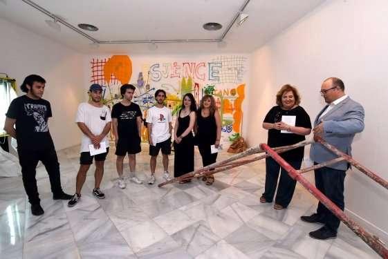 El veterano proyecto de Diputación expone en Condes de Gabia las obras de un grupo de alumnos de la Promoción 2015/19.