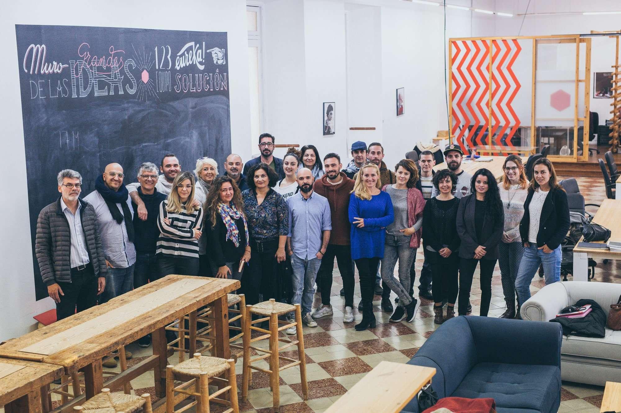 Profesionales de la industria cultural de la provincia de Málaga residirán en este espacio de trabajo compartido.