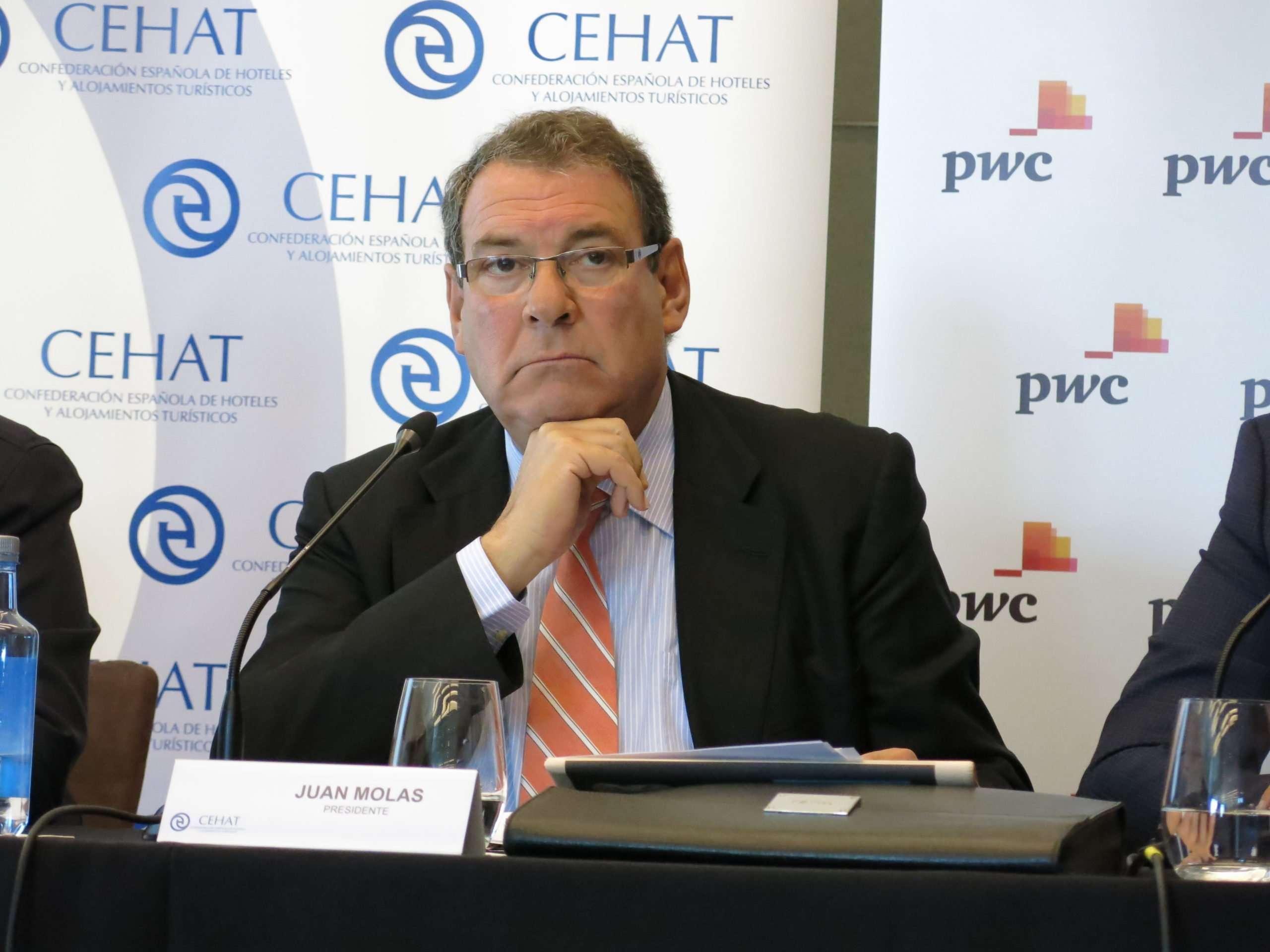 Joan Molas, presidente de la Mesa del Turismo