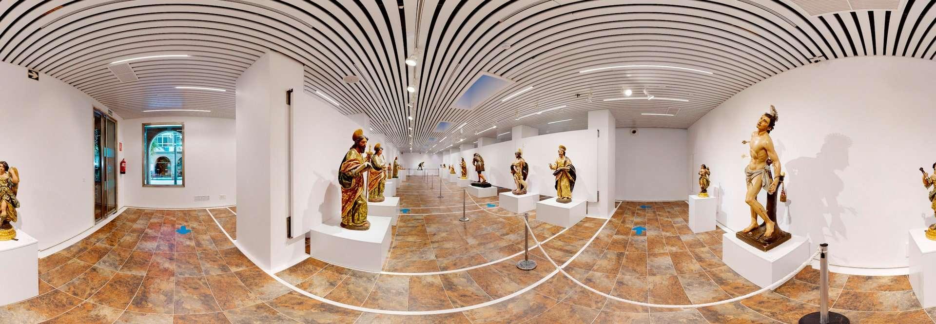 Visitas a 360 grados para conocer las exposiciones onubenses.