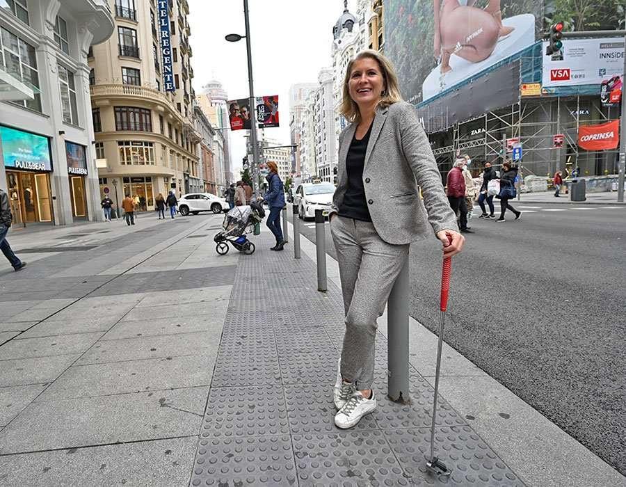 La presidenta de la AECG, Claudia Hernández.