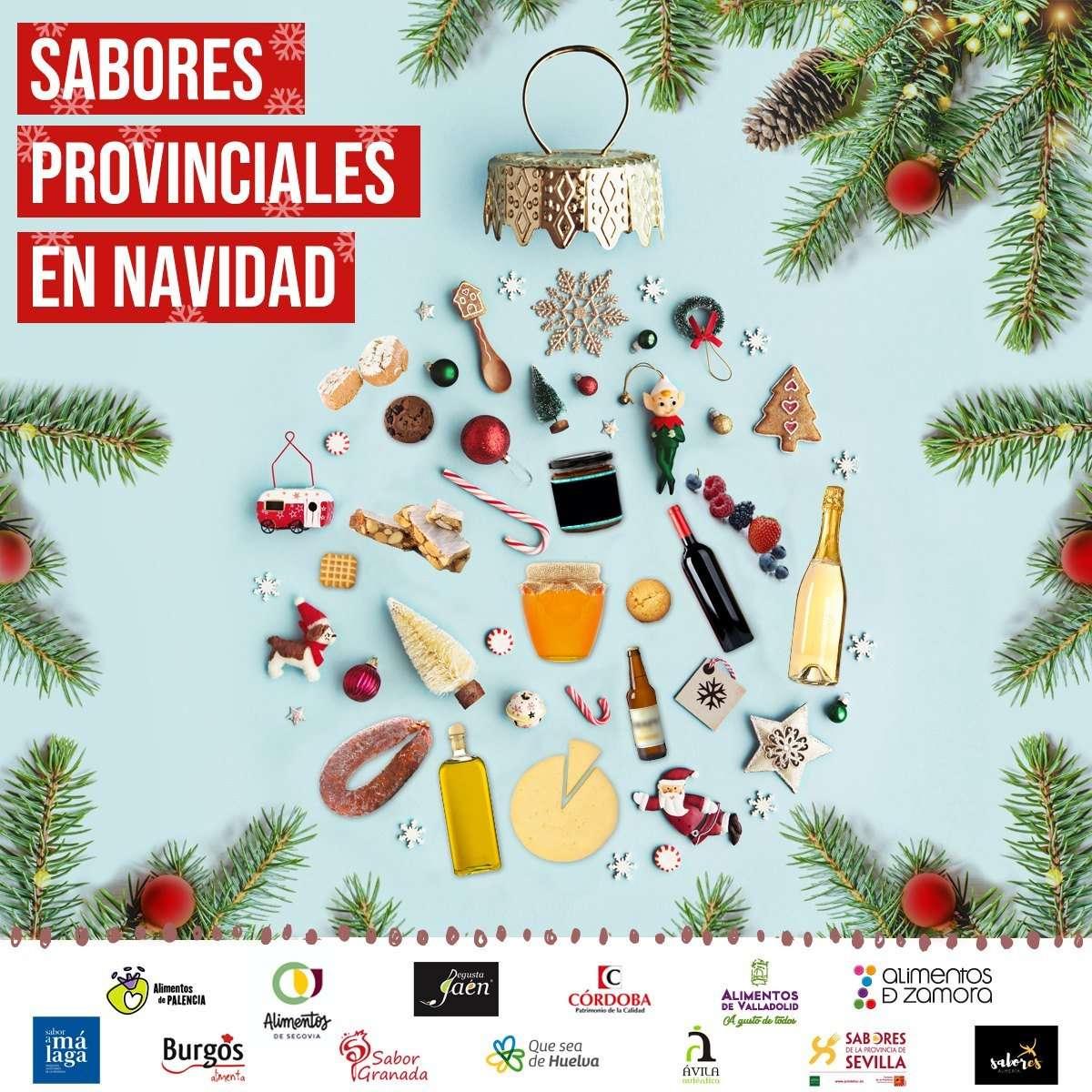 'Sabores Provinciales en Navidad' que está llevando a cabo la Diputación de Huelva junto con otras doce diputaciones de España.