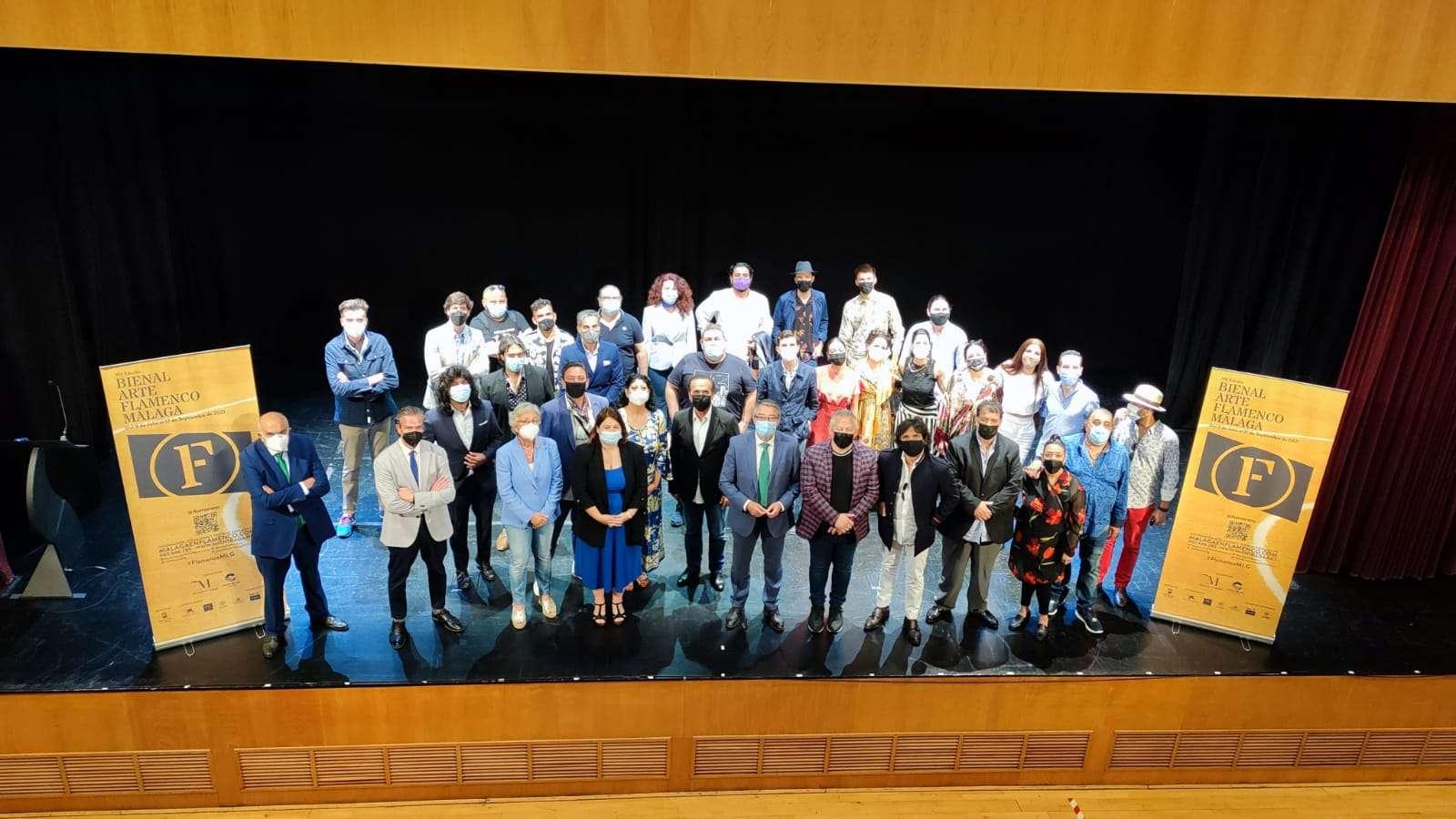 Un total de 267 artistas pasarán por la séptima edición de la Bienal Flamenco de Málaga.